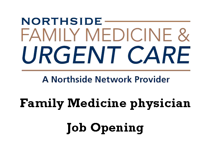 We have a position for a Family Medicine
