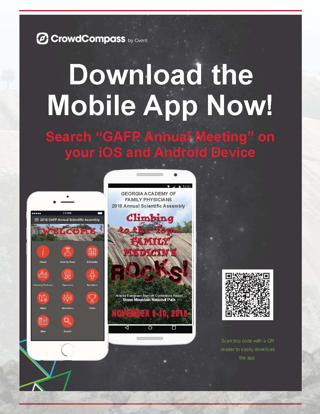 GAFP Rocks brochure phone page
