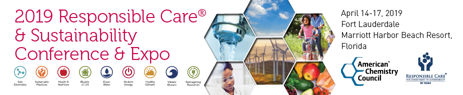 2019 Responsible Care® & Sustainability Conference & Expo