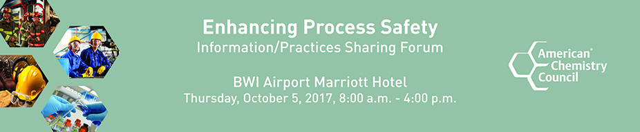 Enhancing Process Safety Information/Practices Sharing Forum