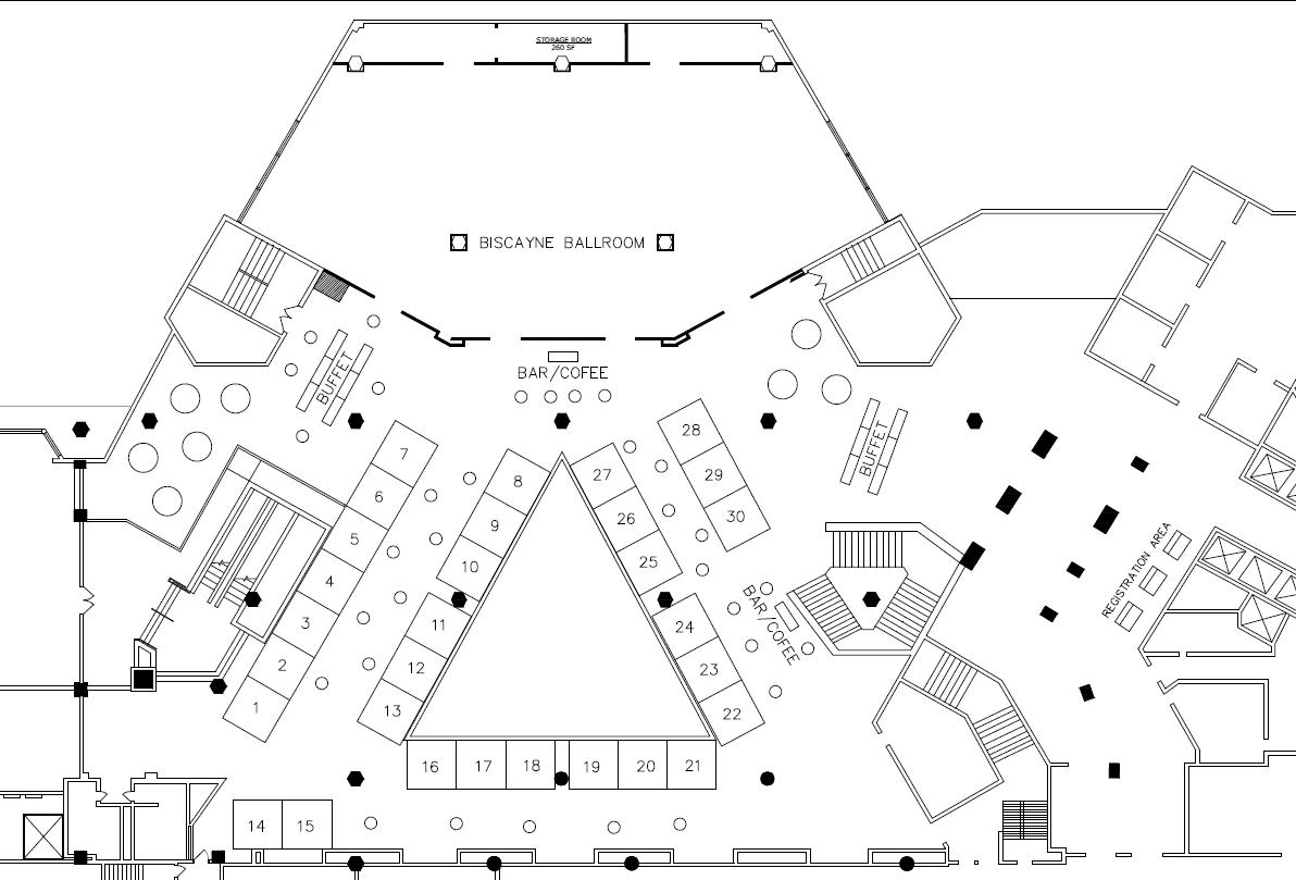 Revised 2017 Expo Floor Plan