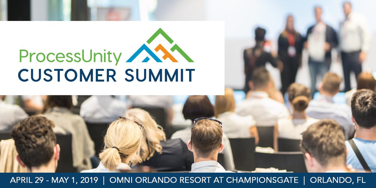 ProcessUnity Customer Summit 2019