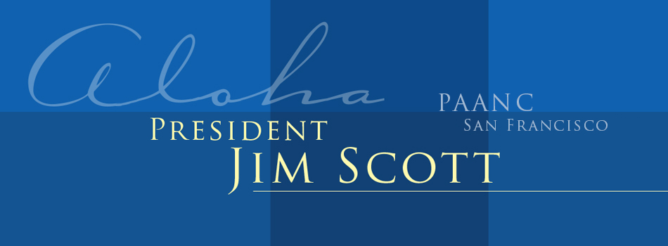 Aloha President Jim Scott Reception in San Francisco