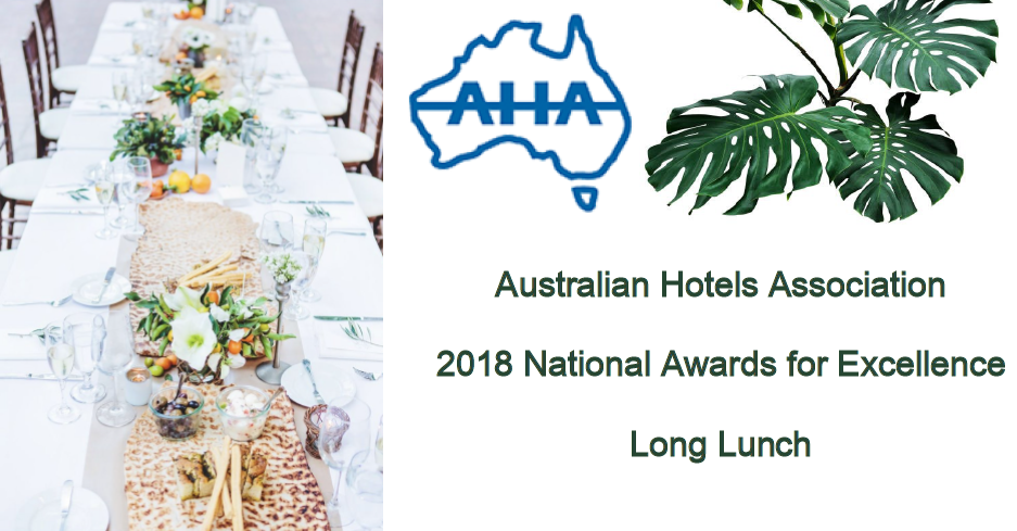 2018 AHA National Awards for Excellence Long Lunch