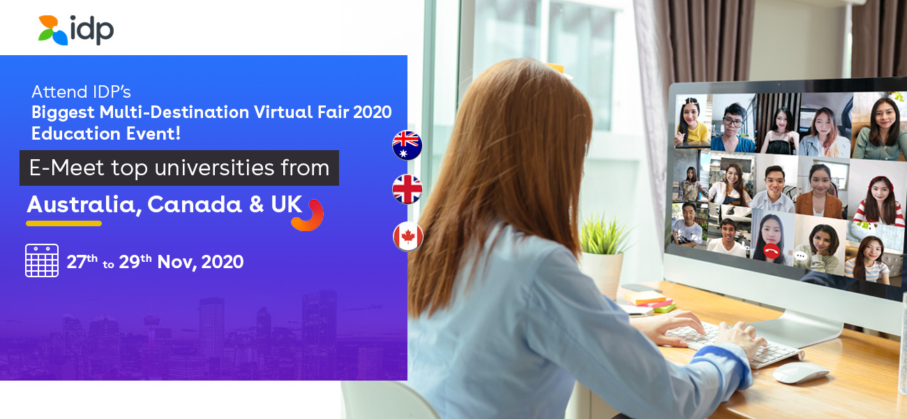 Multi-Destination Virtual Fair - 27th to 29th Nov - 2020