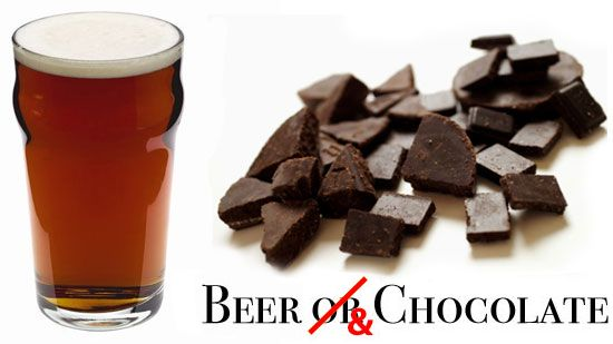 Beer AND Chocolate