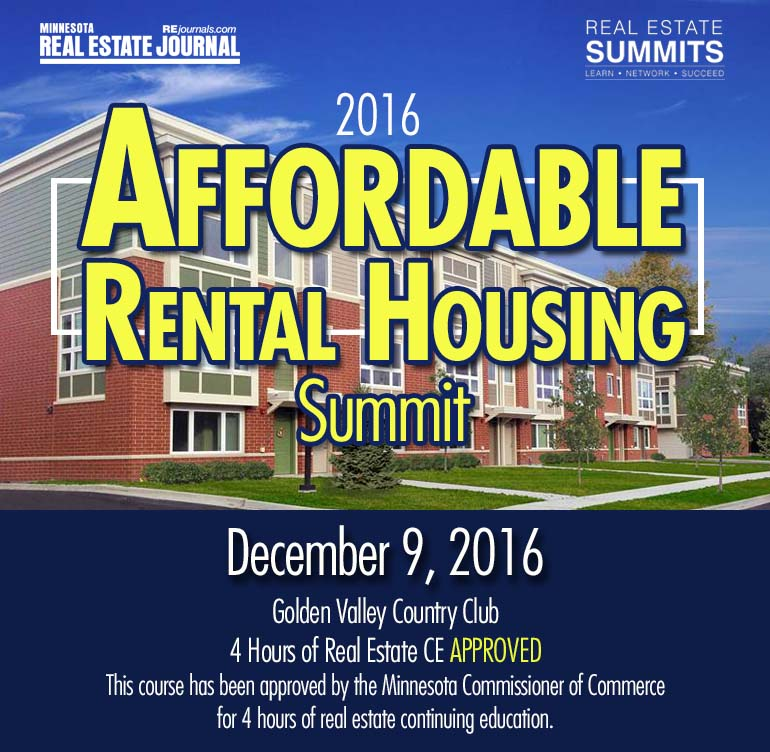 Affordable Rental Housing Summit