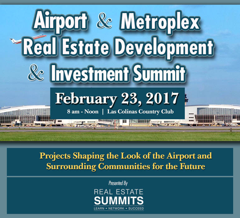 Airport  & Metroplex Real Estate Development & Investment Summit