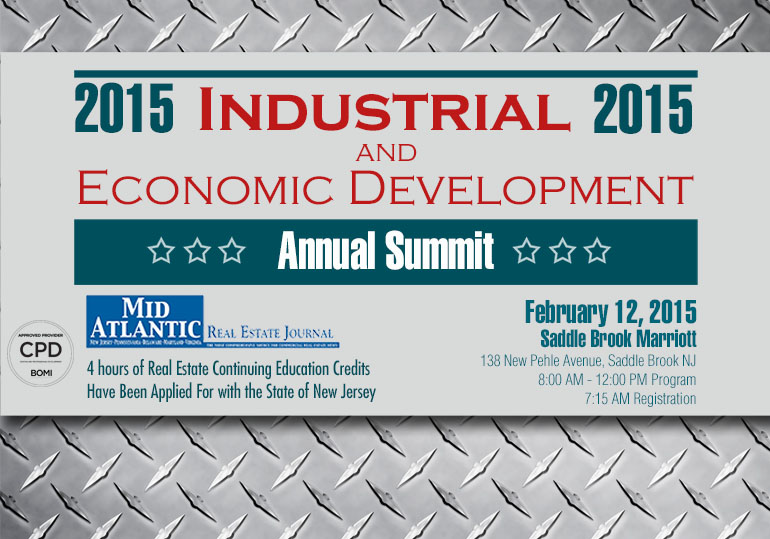 New Jersey Industrial Real Estate & Development Summit