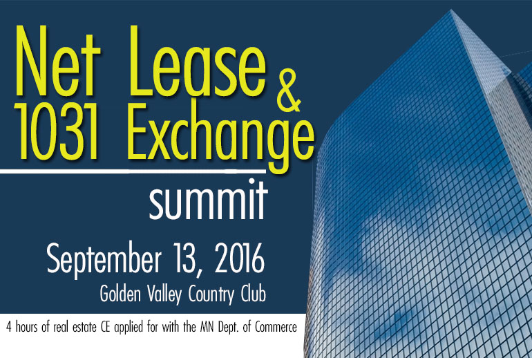 Net Lease & 1031 Exchange Summit