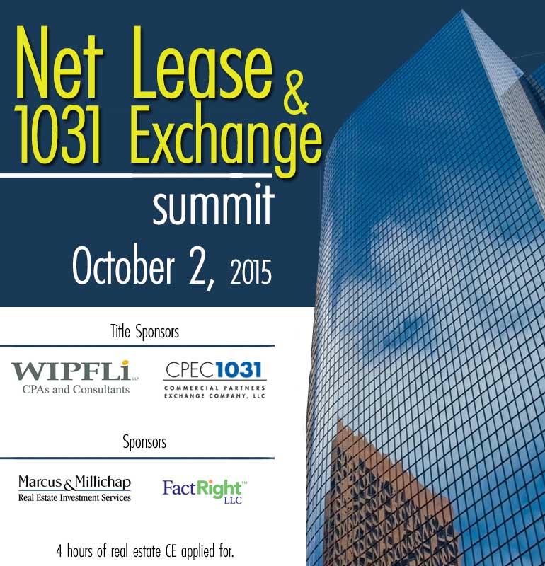 Net Lease & 1031 Exchange Summit