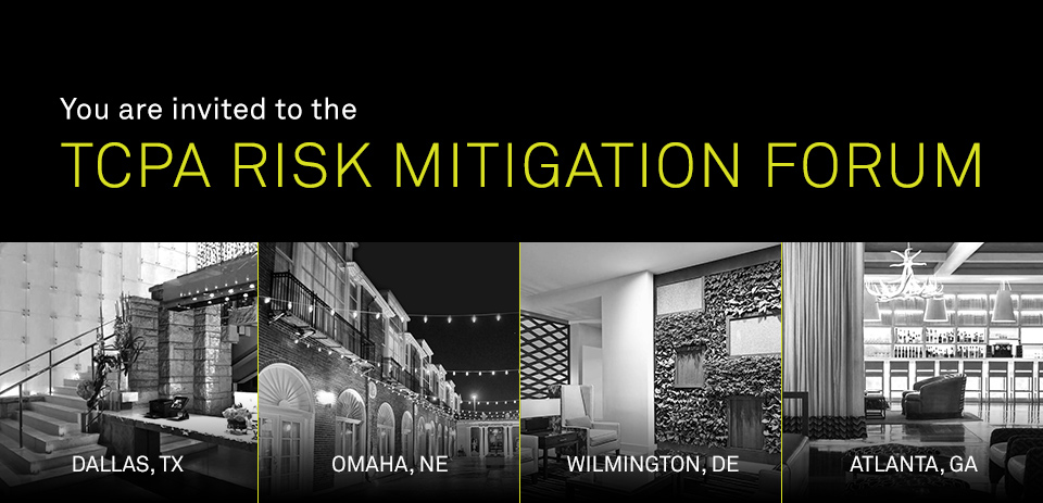 You are invited to the TCPA Risk Mitigation Forum | Hosted by Neustar