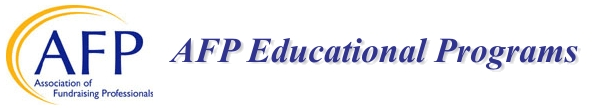 AFP Education banner text