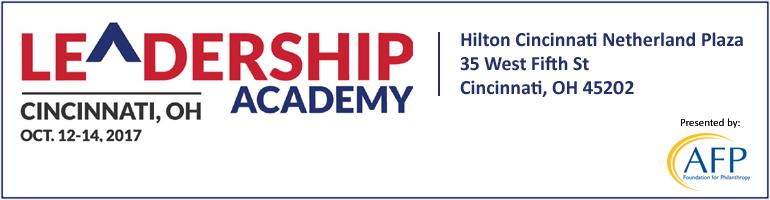 2017 AFP Leadership Academy