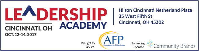2017 AFP Leadership Academy