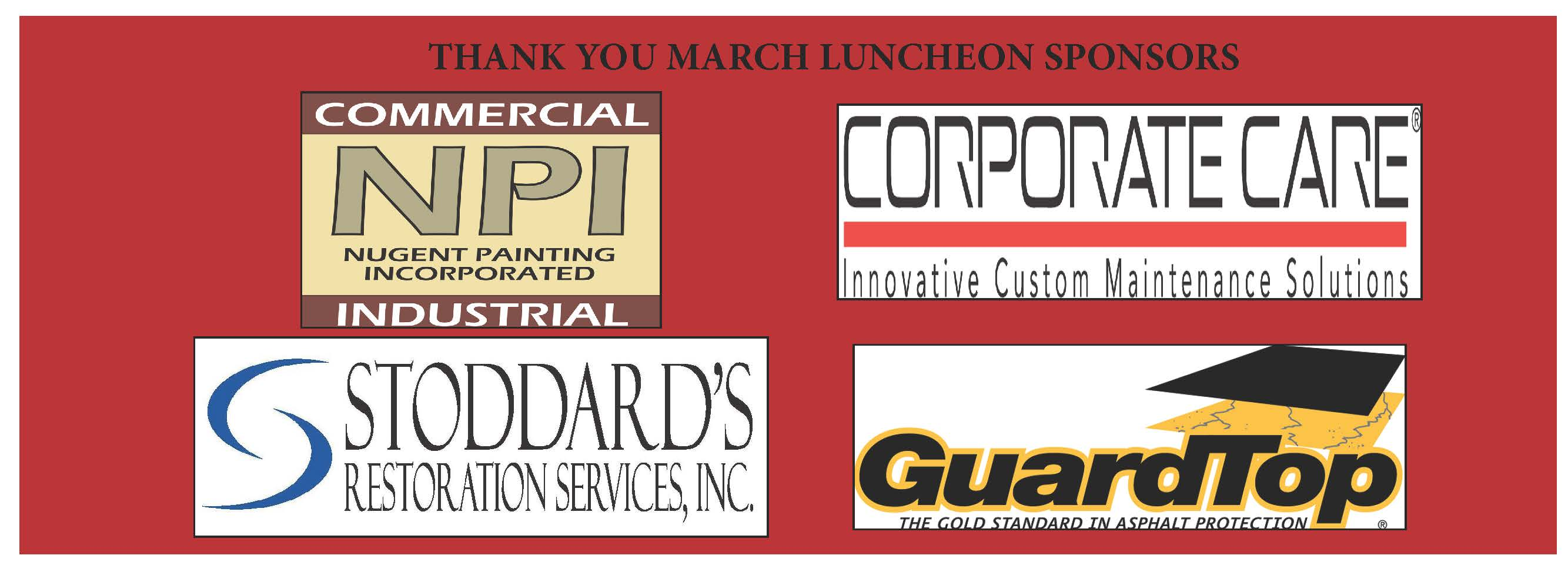 March Luncheon Sponsors