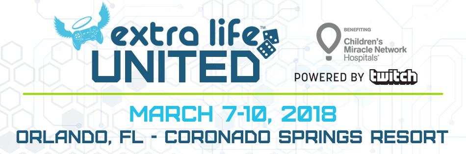 Extra Life United 2018
