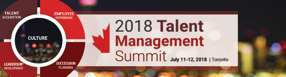 2018 Talent Management Summit - Toronto