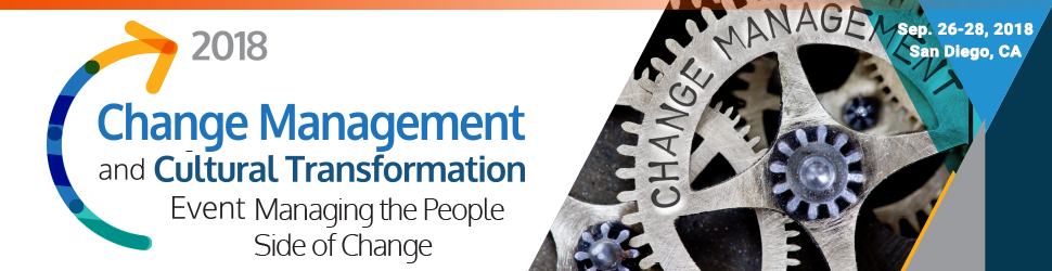 2018 Change Management and Cultural Transformation Summit