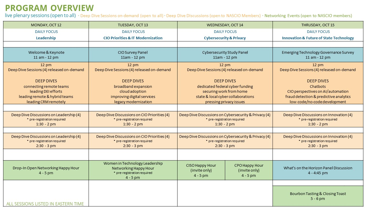 Agenda with Details for Web