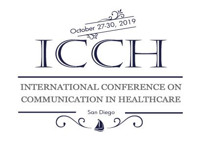 2019 International Conference on Communication in Healthcare (ICCH)