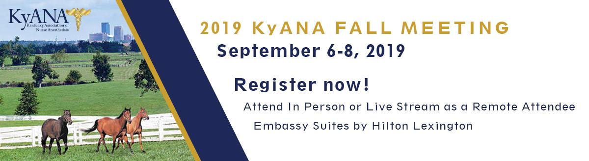 2019 KyANA Fall Meeting