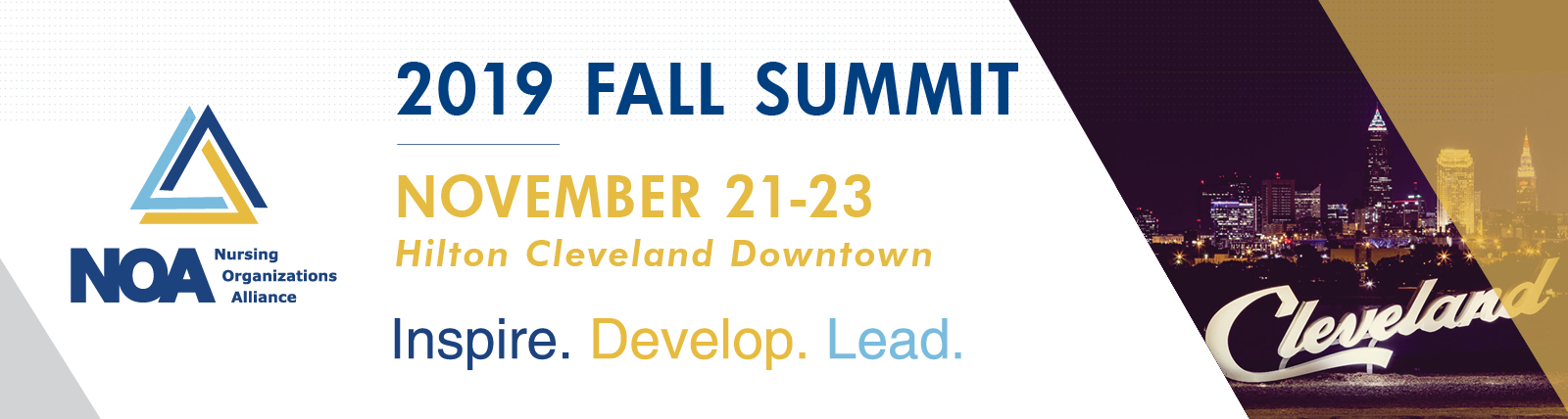 2019 NOA Fall Summit Exhibitor & Sponsor Registration