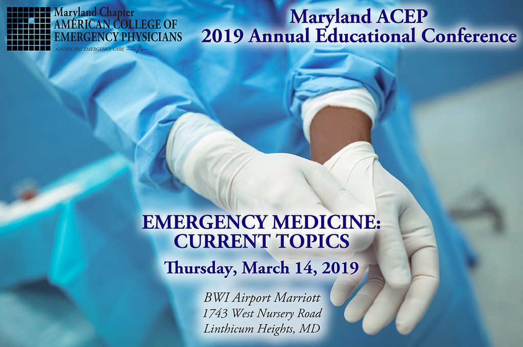 2019 Maryland ACEP Annual Educational Conference