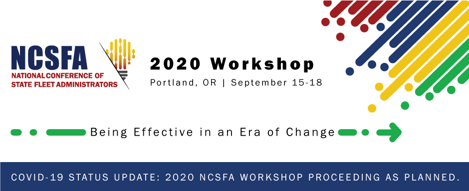 2020 NCSFA State Fleet Managers Workshop