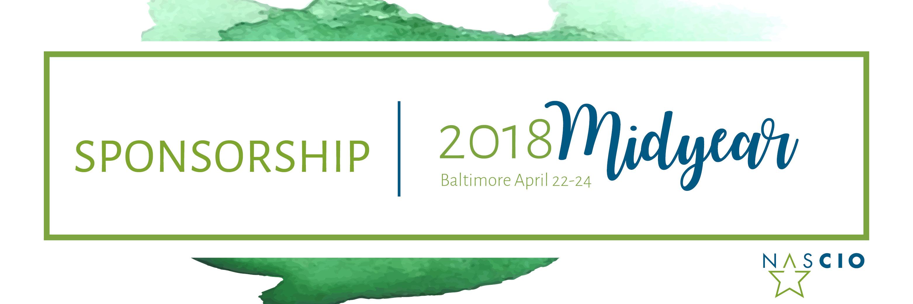 NASCIO 2018 Midyear Conference Sponsorship