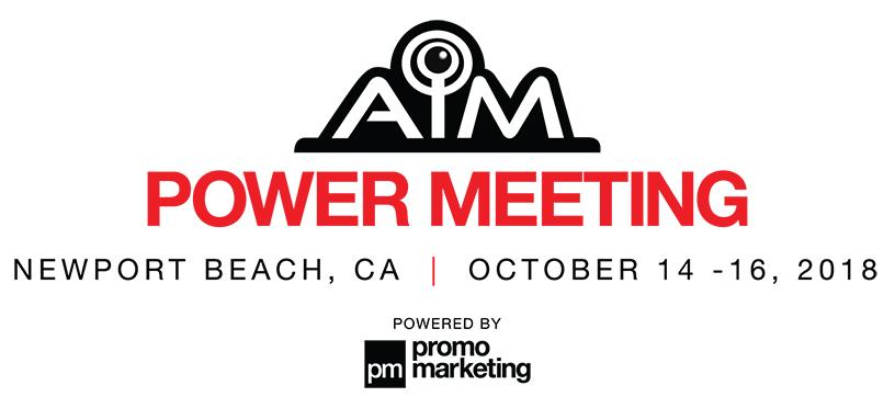 AIM Power Meeting | Newport Beach | October 2018