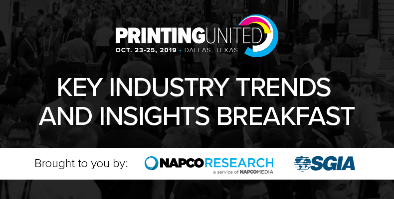 Printing United Key Industry Trends and Insights Breakfast