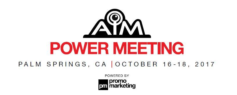 AIM Power Meeting | Palm Springs | October 2017