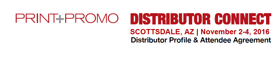 Distributor Connect | Scottsdale AZ | November 2016