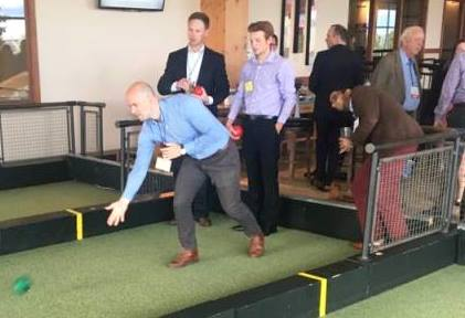 Pinstripes Bistro-Bowling-Bocce Networking Social