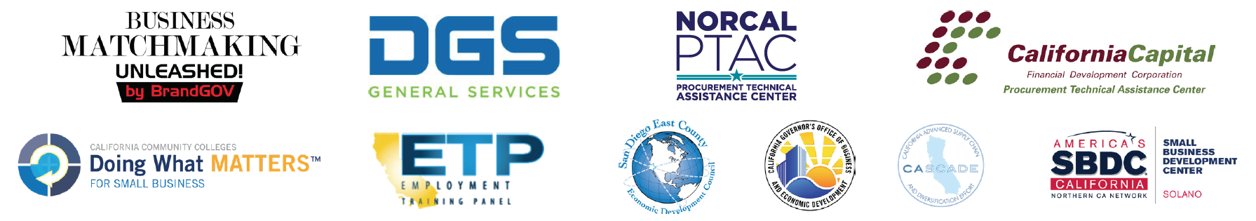 Norcal Defense Supply Chain Resource Fair & Procurement Expo
