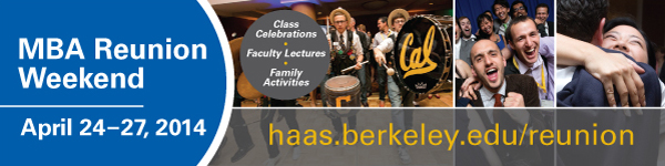 Register for MBA Reunions, April 24-27.
