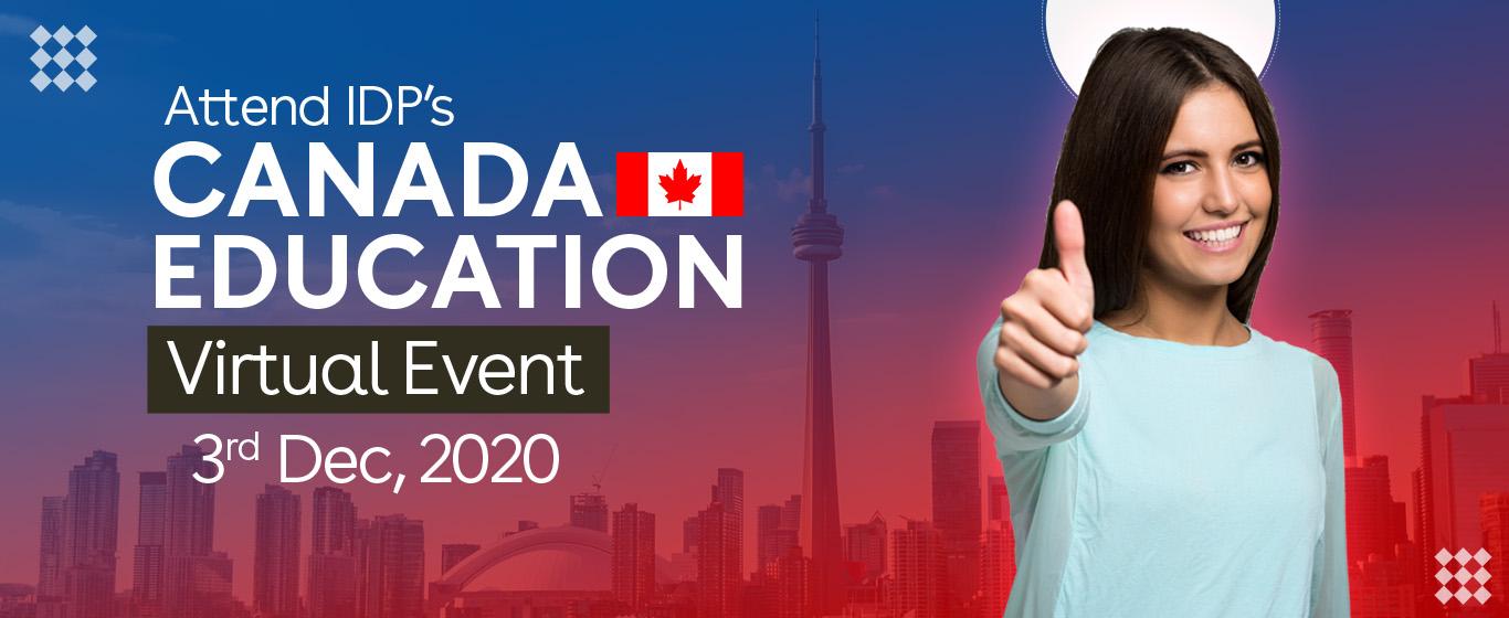 IDP's Canada Virtual Event- Thu, Dec 03  (11:30AM-3:30PM)