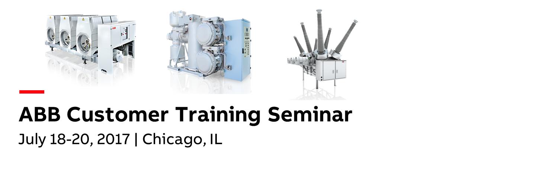 ABB Customer Training Seminar 2017