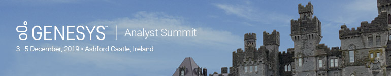 Genesys Analyst Summit 2019