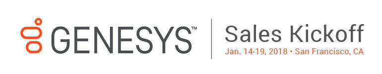 Genesys Sales Kickoff 2018