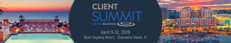 2019 Vector Solutions Client Summit