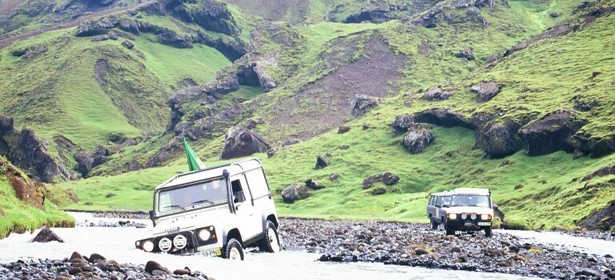 Tufts Iceland jeep