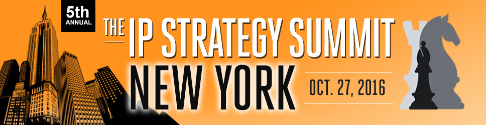 The IP  Strategy Summit: NYC