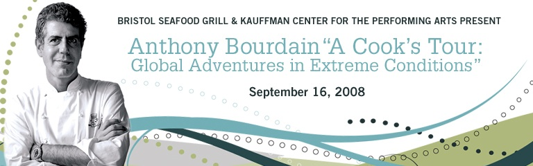 """Anthony Bourdain """"A Cook's Tour: Global Adventures in Extreme Conditions"""""""