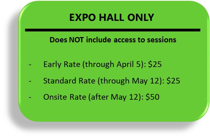 ETFC Expo Hall Only Button