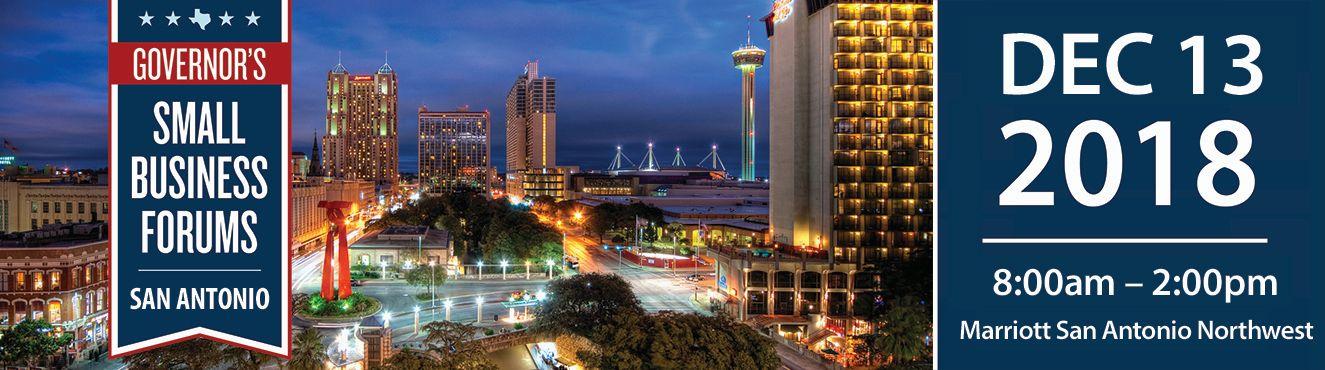 Governor's Small Business Forum - San Antonio