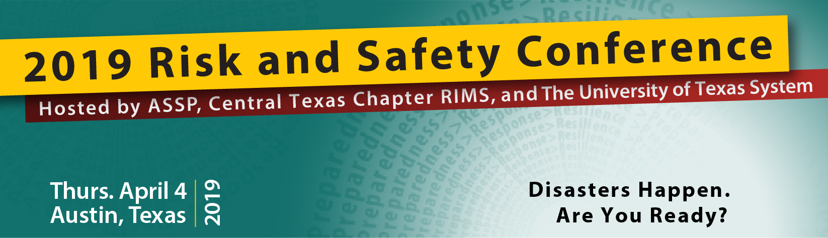 2019 Risk & Safety Conference