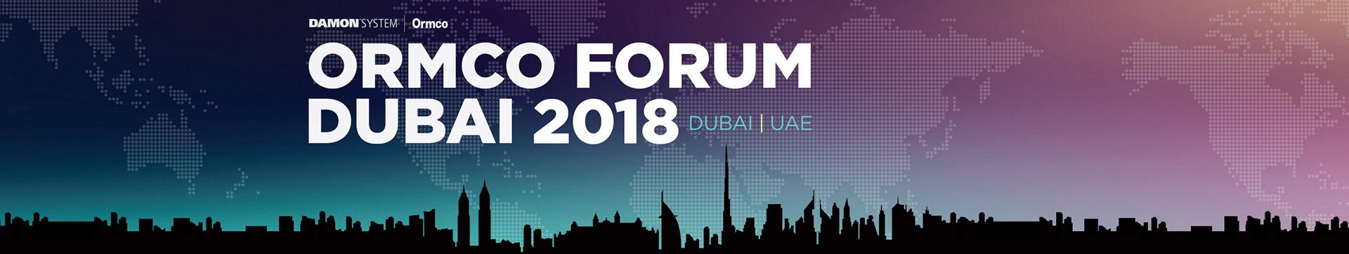 Ormco Dubai 2018