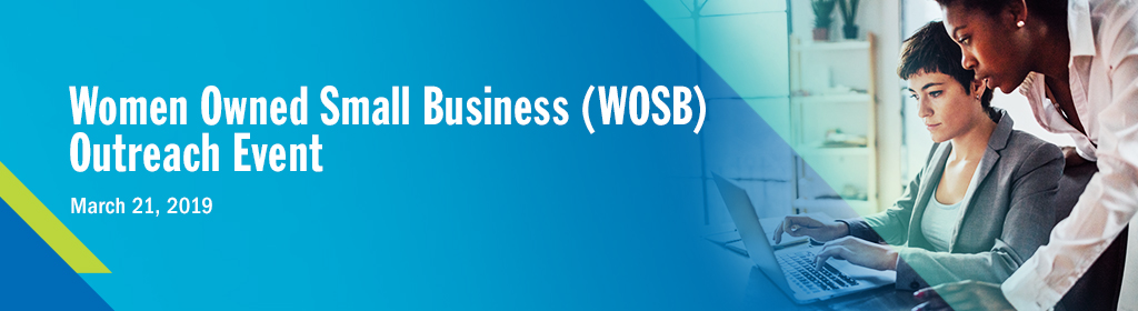 Women Owned Small Business (WOSB) Networking Session